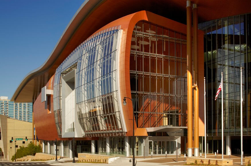 Music City Convention Center Architect Magazine Tvsdesign Nashville Tn United States