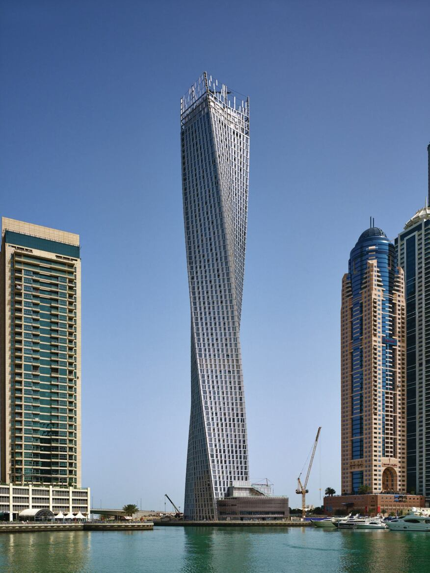 cayan tower designed by skidmore owings merrill architect