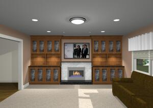 Tips for Installing a Television Over a Fireplace | Remodeling ...