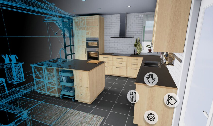 is ikea s new app really virtual reality remodeling