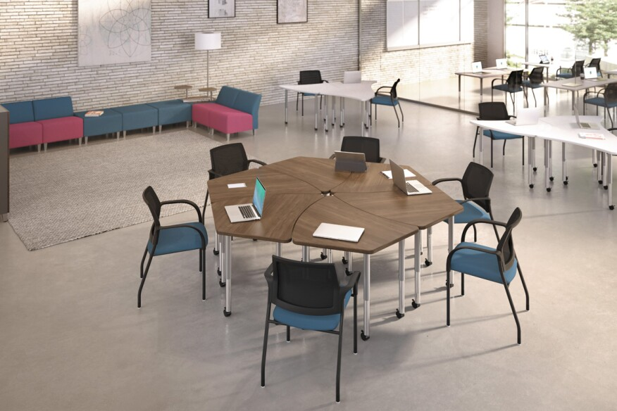 Build Tables By HON Architect Magazine Products HON - Hon table legs