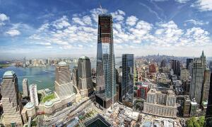 One World Trade Center Rises with High
