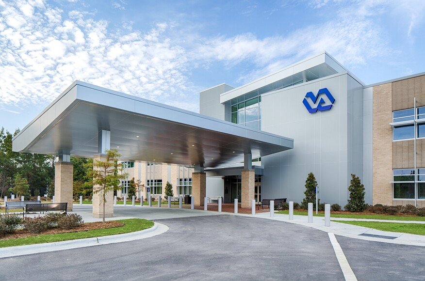 Veterans affairs greenville outpatient center architect for Architects in greenville sc