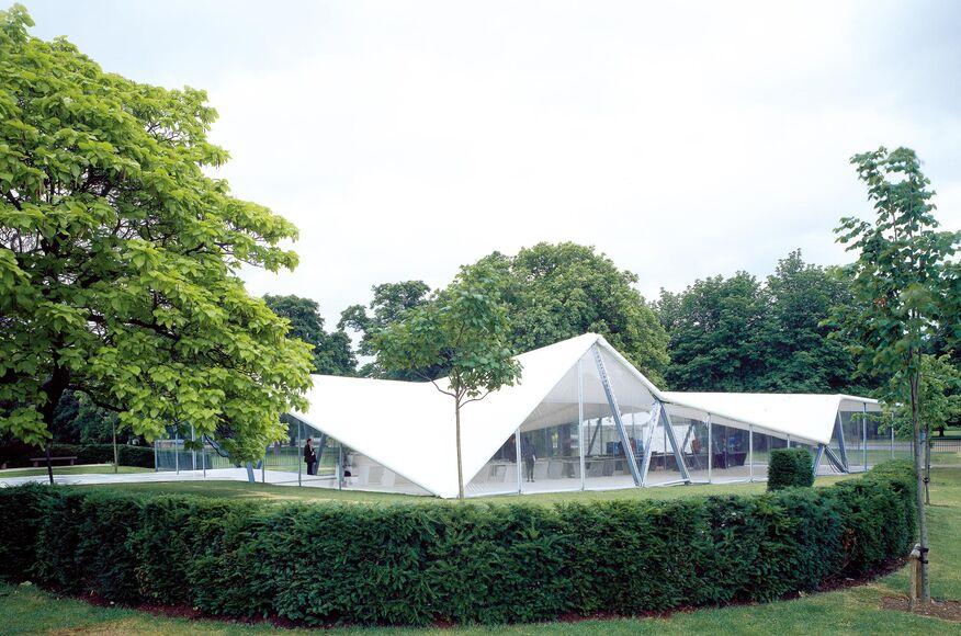 2000 Serpentine Gallery Pavilion Architect Magazine