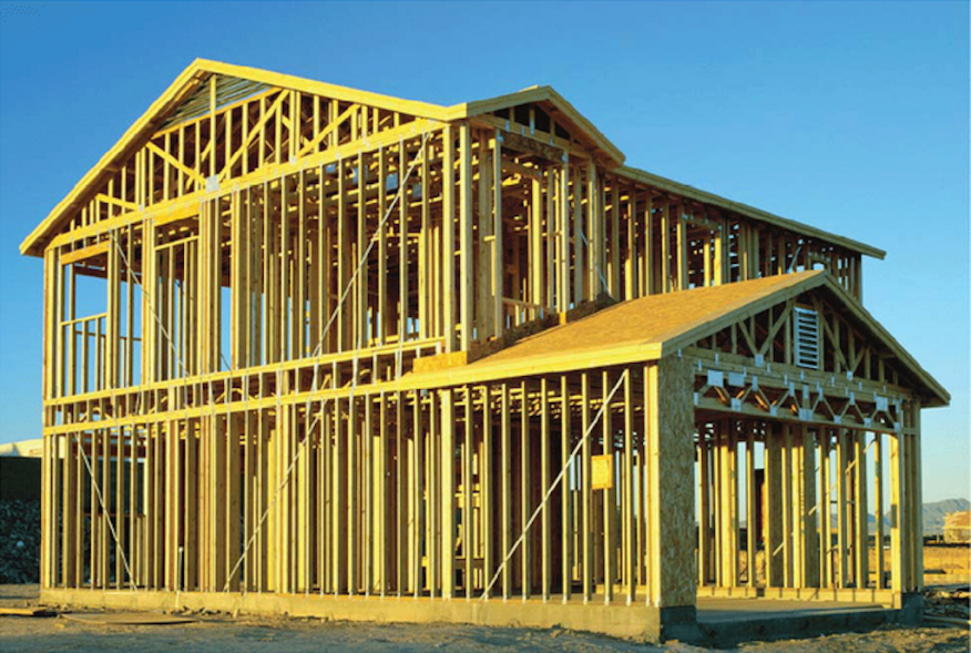 figure 2 typical wood frame structure from architecture curriculum at magill university in canada source - Wood Frame Building