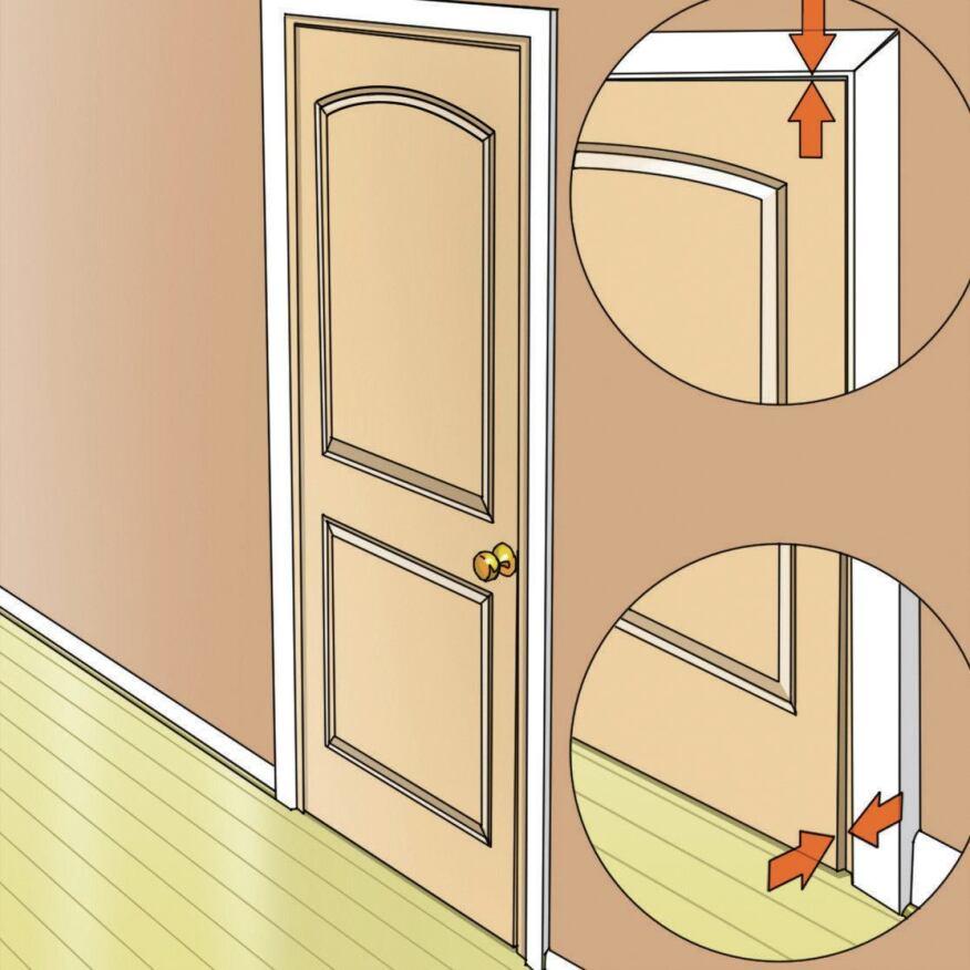 legs akimbo for whatever reason rough door jacks are sometimes out of plumb in - Door And Door Frame