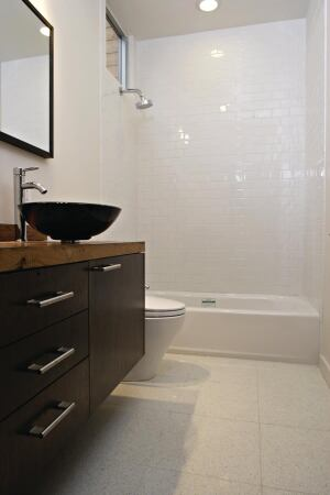 FromCase Study Tulsa Okla Loft Townhomes Bathroom Floor