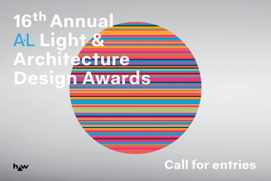 Call For Entries 2019 Al Light Architecture Design Awards