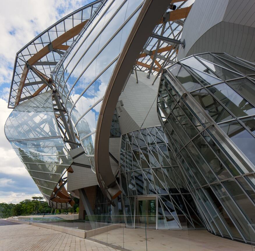 Fondation Louis Vuitton, Designed by Gehry Partners ...