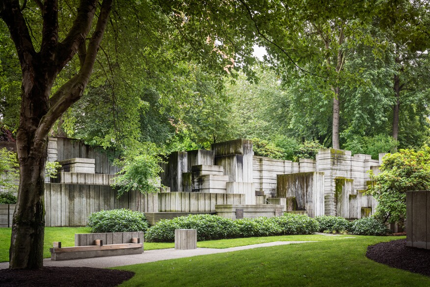 lawrence halprin retrospective opens in washington d c architect