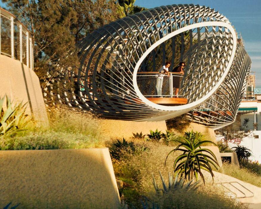 Tongva Park Ken Gensler Square Frederick Fisher Partners Santa Monica Calif