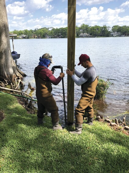 Building a Freshwater Dock | Professional Deck Builder