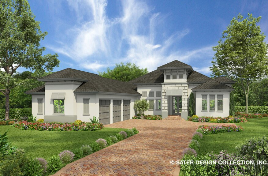 Fourplans Modern Florida Luxury Homes From Dan Sater Builder