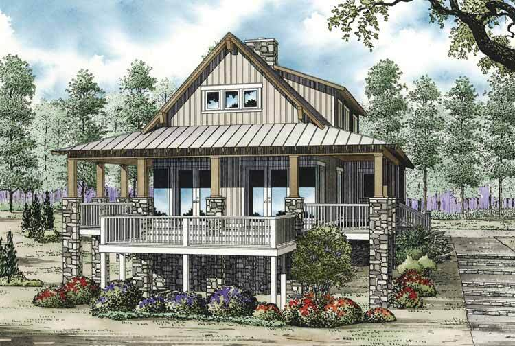 Vacation House Plans Upper Floor Plan 2 For Mediterranean Duplex ...
