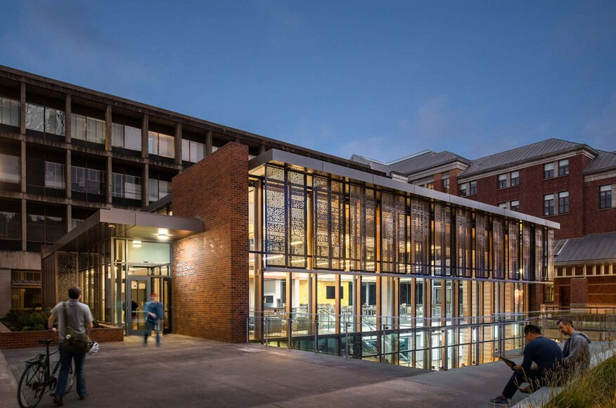 University of oregon allan price science commons for Residential architects eugene oregon