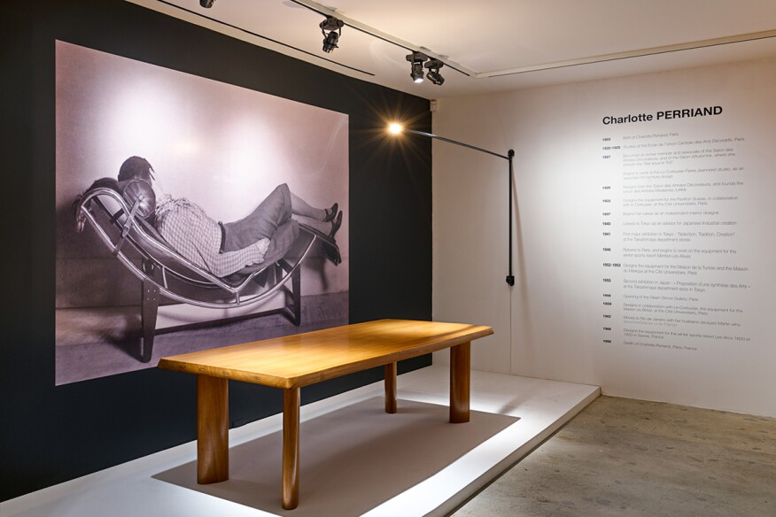 Installation View Of Charlotte Perriand At Venus Over Manhattan New York