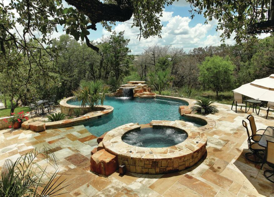 In Texas Oil And Water Do Mix Pool Amp Spa News