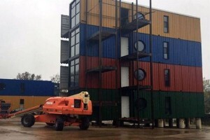 A Shipping Container Apartment Complex Architect Magazine Green Building Architects Design Materials Sustaility
