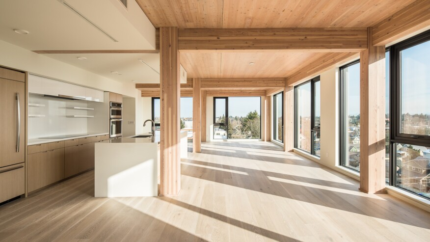 Carbon 12, Portland, Ore. | Courtesy: Structurlam Mass Timber Corporation
