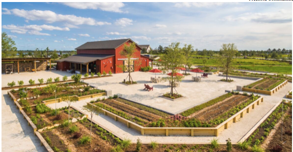 The Barn at Freehold Communities Arden master planned community.