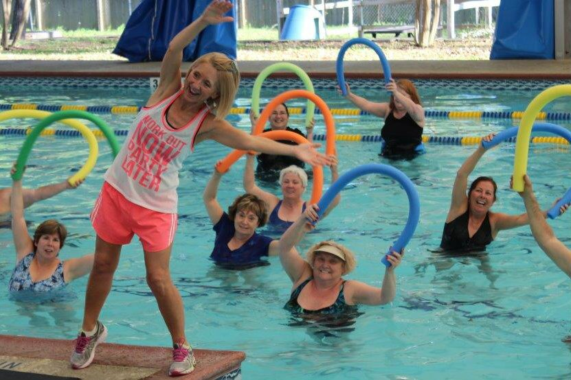 Health Spotlight Water Exercise And Blood Pressure Aquatics