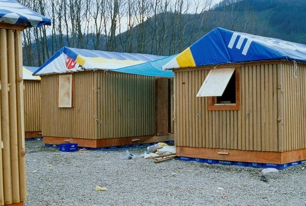 Instant Shelter Mby Architects : Disaster relief projects by shigeru ban architects