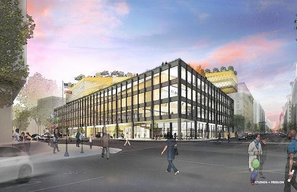 Martin Luther King Jr Memorial Library Design Ideas Released
