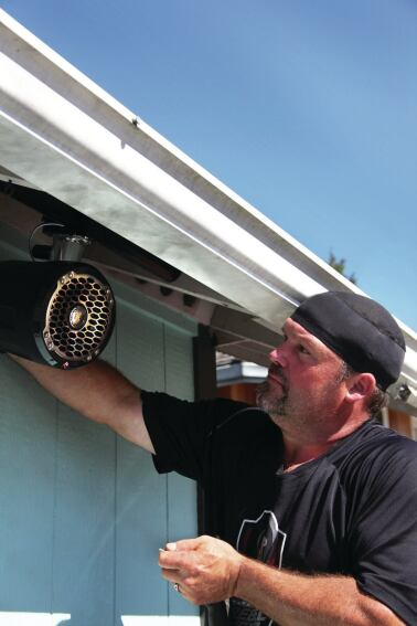 Installing An Outdoor Sound System Professional Deck Builder