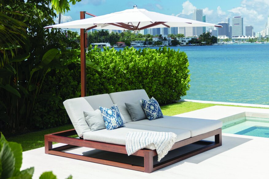 Tuuci Launches Equinox Double Chaise Lounge| Aquatics International ...