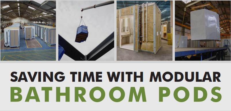A New Online Resource From The Modular Building Institute Provides An Overview Of How Builders Can Benefit With Bathroom Pods