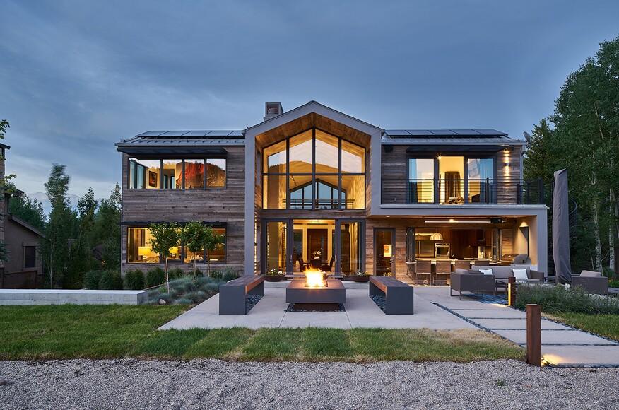 Wasatch lake house architect magazine rowland for Utah home design architects