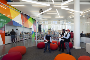 New York Public Library, Hamilton Grange Teen Center ...