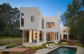Riggins House   Architect Magazine   Robert M. Gurney, Cabin John ...