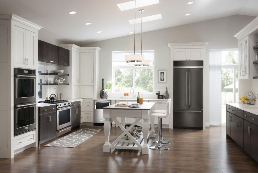KitchenAids New Black Stainless Steel Appliances