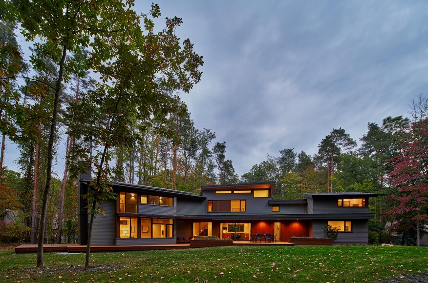 Deer haven residence architect magazine mathison i for Architects grand rapids mi