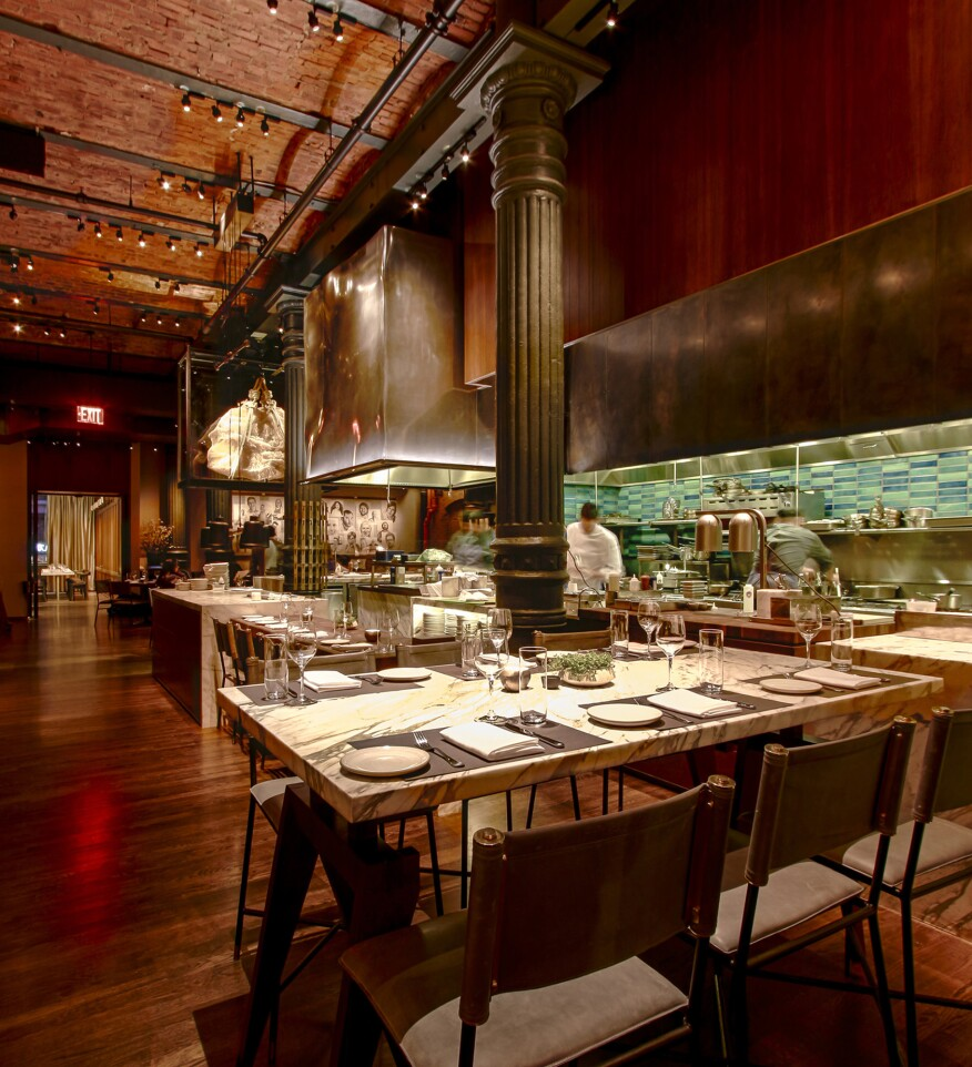 Kitchen Lighting Nyc: 2015 AL Design Awards: Chefs Club, New York