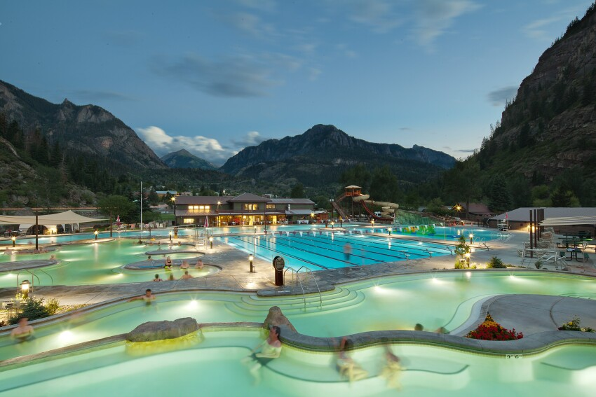 Ouray hot springs swimming pool ouray colo aquatics - Florida building code public swimming pools ...