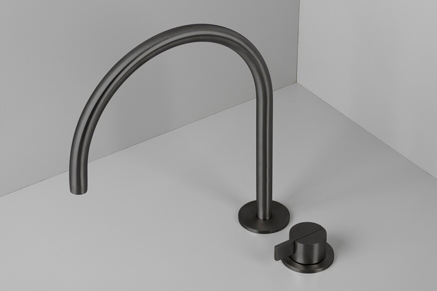 Piet Boon Gunmetal Black By Co Architect Magazine Products Bath Faucets Bathroom