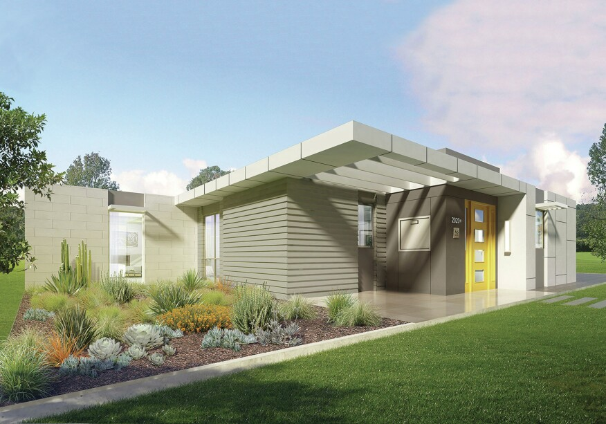 greenbuild show home takes modular plug and play approach