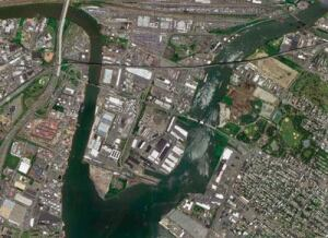 Nature S Fury Hurricane Sandy Caused The Hackensack And Paic Rivers In New Jersey To Rise