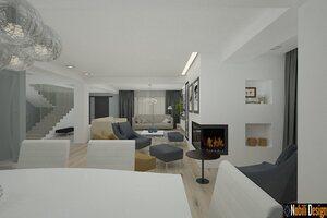 Amenajari Bai Moderne.Proiecte Design Interior Case Vile Moderne Architect Magazine