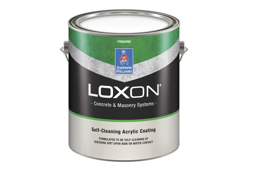 Loxon Self-Cleaning Exterior Finish by Sherwin-Williams
