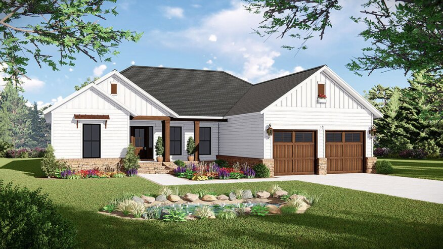 FourPlans: One-Story Designs Under 2,000 Sq. Ft. | Builder ... on 4000 sq ft open house plans, 1500 sq ft open house plans, 800 sq ft open house plans, 1200 sq ft open house plans, 1700 sq ft open house plans, 1800 sq ft open house plans,