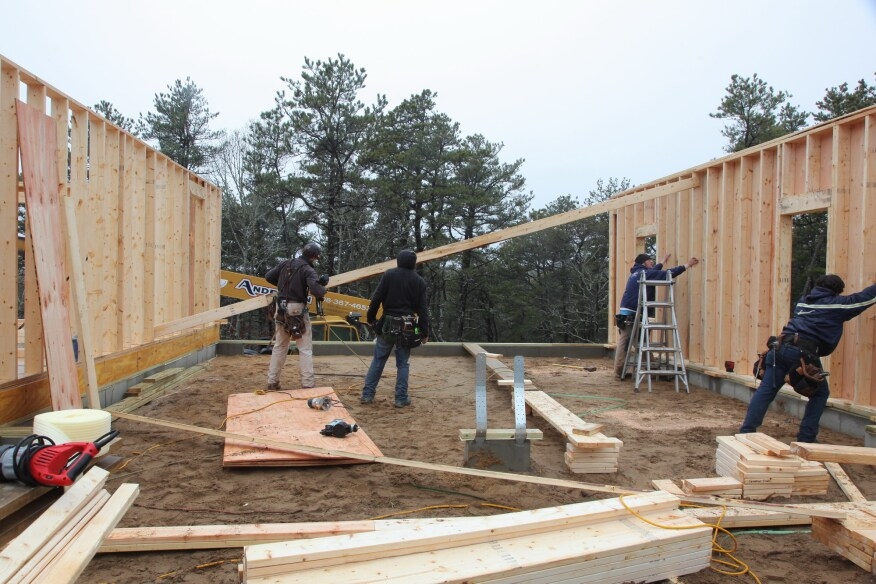 Building and Raising Exterior Walls | JLC Online | Framing ...