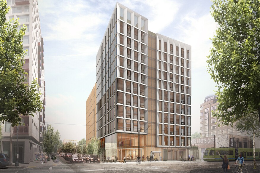 plans for lever architecture s framework building in oregon scrapped