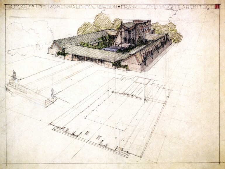 Frank Lloyd Wright Rosenwald School