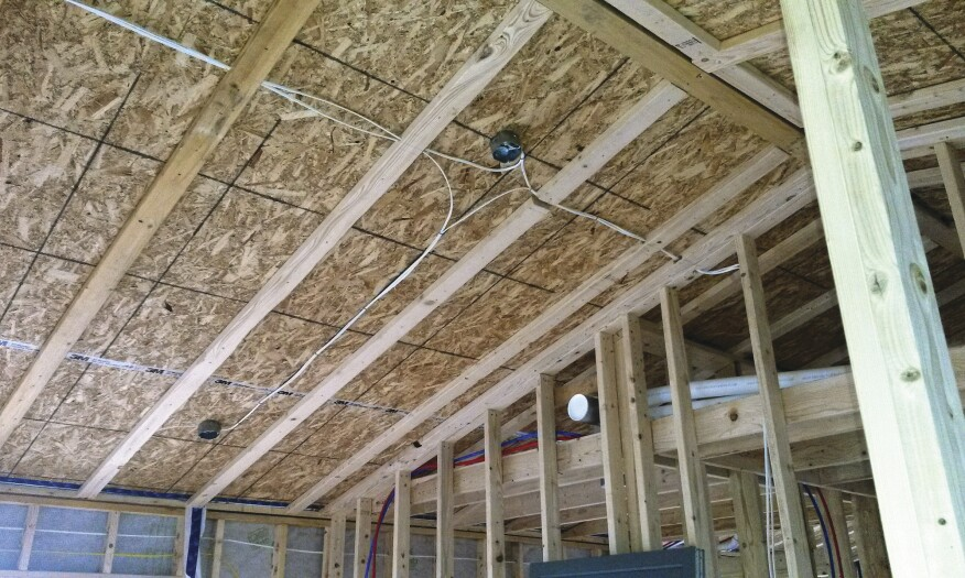 house wiring for ceiling scissors trusses and home performance jlc online framing  scissors trusses and home performance jlc online framing