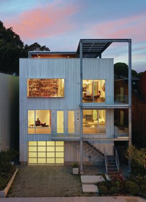 Top Residential Firm Craig Steely Architecture Architect Magazine - Beaver-street-reprise-in-san-francisco-is-a-great-livework-house-plan