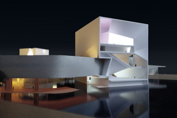 steven holl architects wins culture and art center of qingdao