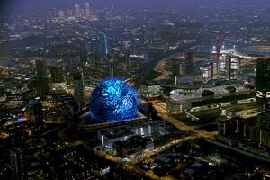 msg sphere london architect magazine populous london uk